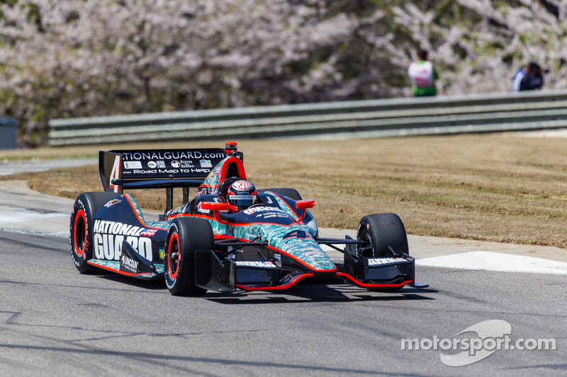 23rd for Hildebrand in Friday Practice at Barber