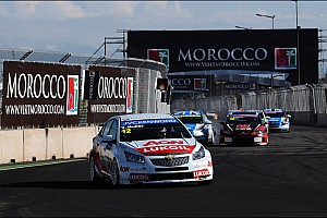 WTCC Race report RML returns to the podium amidst Marrakech carnage