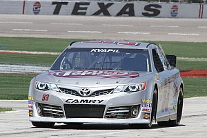 NASCAR Sprint Cup Race report Kvapil records season-best result with 22nd-place finish in Texas
