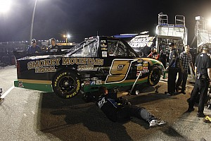 NASCAR Truck Breaking news Hornaday Jr. penalized by NASCAR following Rockingham race
