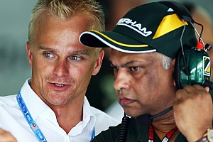 Kovalainen did not burn Caterham bridge - Salo