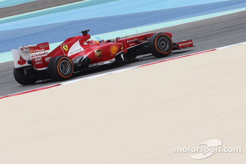 Alonso and Massa on the second row after qualifying at Bahrain