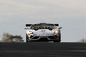 Blancpain Sprint Race report Kox and Rosina take epic Zolder win for Lamborghini Blancpain reiter