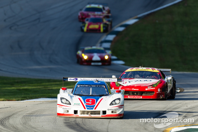 Action Express Racing staged a debut race at Road Atlanta