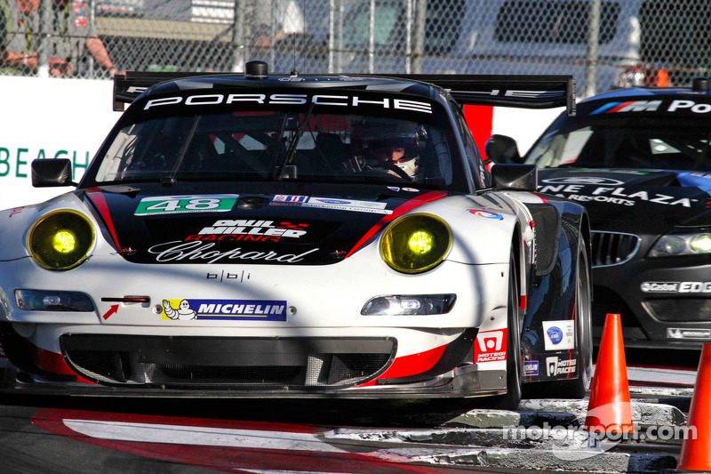 Miller and Holzer rally for sixth-place GT finish at Long Beach