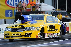 NHRA Qualifying report Top spot in Pro Stock class for Jeg Coughlin Jr.