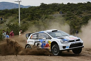 WRC Stage report Ogier wins Rally Argentina opening stage