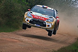 WRC Leg report Loeb on top on second leg of Rally Argentina