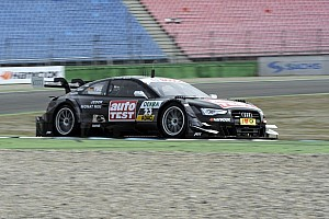 DTM Qualifying report The two times' DTM champion is back - pole for Timo Scheider at Hockenheim