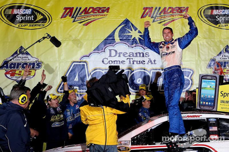 Front Row Motorsports earns first win in 1-2 Ragan-Gilliland finish at Talladega