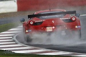 AF Corse #55 on the way to Le Mans