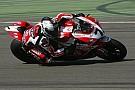 Team SBK Ducati Alstare hard at work at Monza