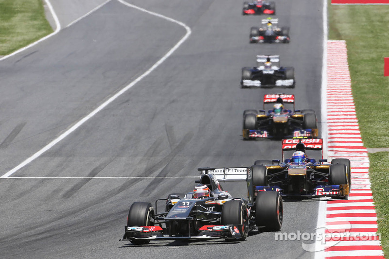 Some positives for Sauber after race at Barcelona