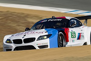 ALMS Race report BMW Team RLL finishes third at Monterey