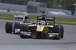 GP2 Race report DAMS fails to convert a brilliant qualifying in points on Race 2 in Barcelona