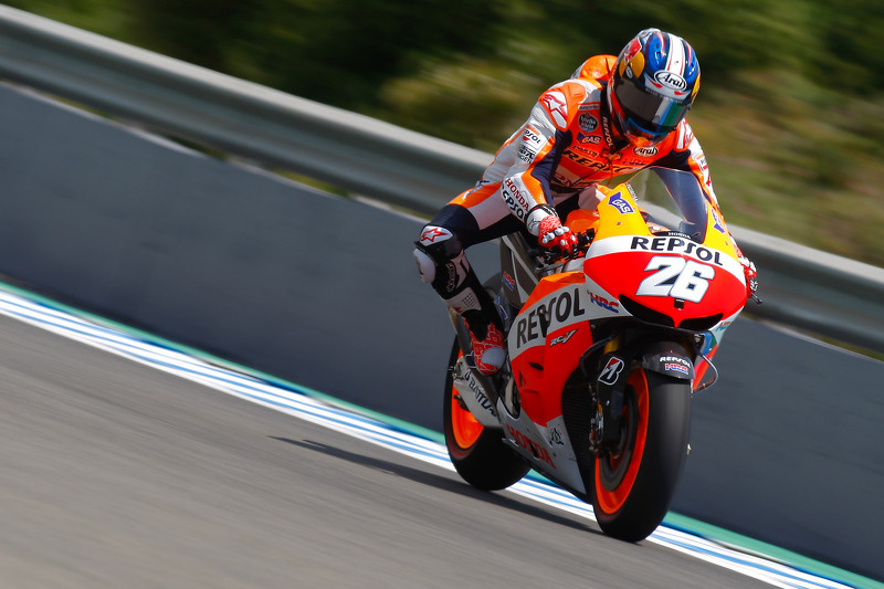 Bridgestone: Pedrosa leads Repsol Honda 1-2 in French GP Friday practice