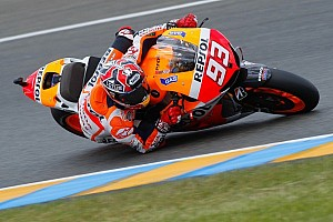 Marquez steals the limelight with second MotoGP pole position