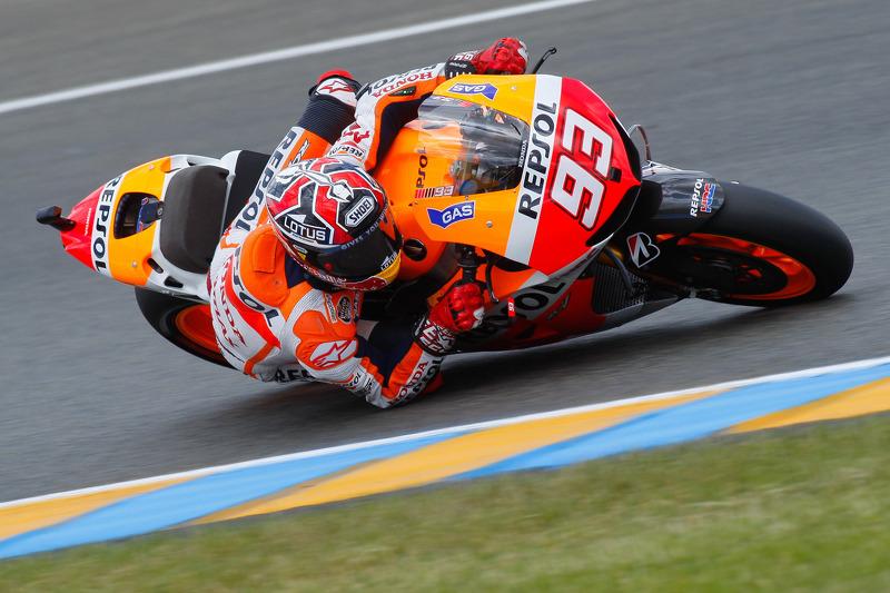 Marquez steals the limelight with second MotoGP pole position