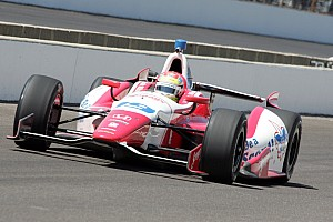 Wilson qualifies in middle of row five for the Indy 500