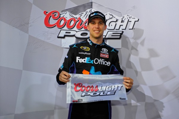 Hamlin to start on pole for 600-mile Charlotte race