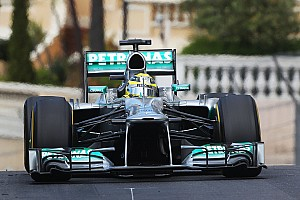 Rosberg and Hamilton claimed the second consecutive front-row in Monte Carlo