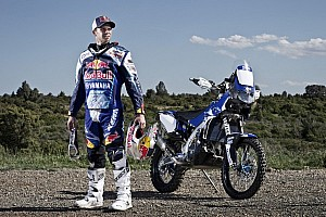 Dakar Breaking news Despres' dream of blue comes true