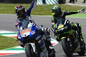 MotoGP Race report Lorenzo makes it three in a row with masterful Mugello victory