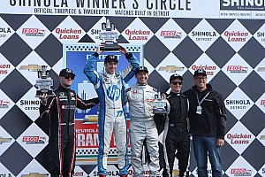 Pagenaud completes Honda's Detroit sweep