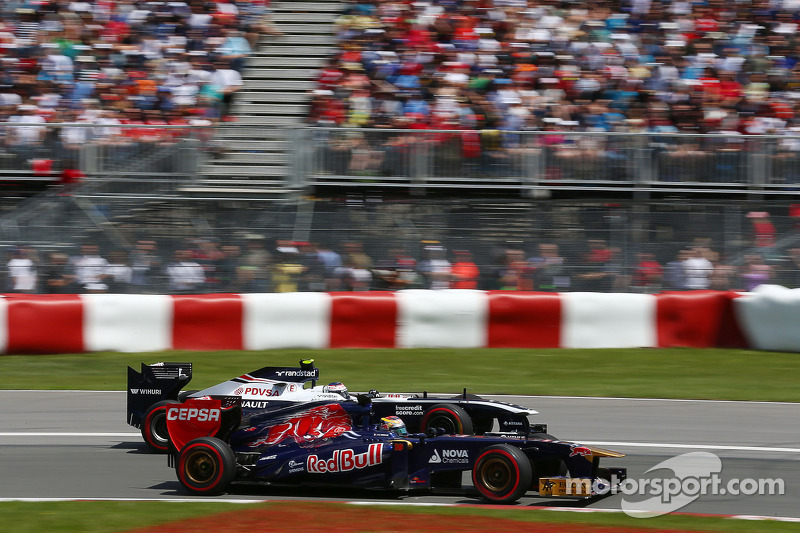 Solid 6th finish for Toro Rosso's Vergne in Montreal