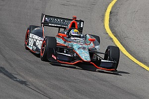 Servia advances to final qualifying heat race, will start tenth at Iowa Speedway