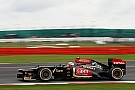Lotus' Raikkonen posted a Friday 13th best time/place at Silverstone