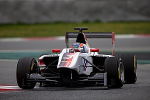 GP3 Race report Home hero Harvey victorious in Silverstone Race 1