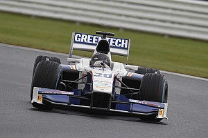 GP2 Race report Hard luck for Trident Racing at Silverstone race 1