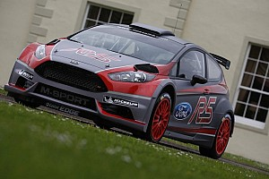 WRC Breaking news Neuville and co-driver Gilsoul shakedown new M-Sport Ford Fiesta R5