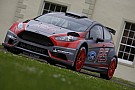 Neuville and co-driver Gilsoul shakedown new M-Sport Ford Fiesta R5