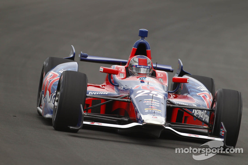 Andretti sets fastest pace in Pocono open test day
