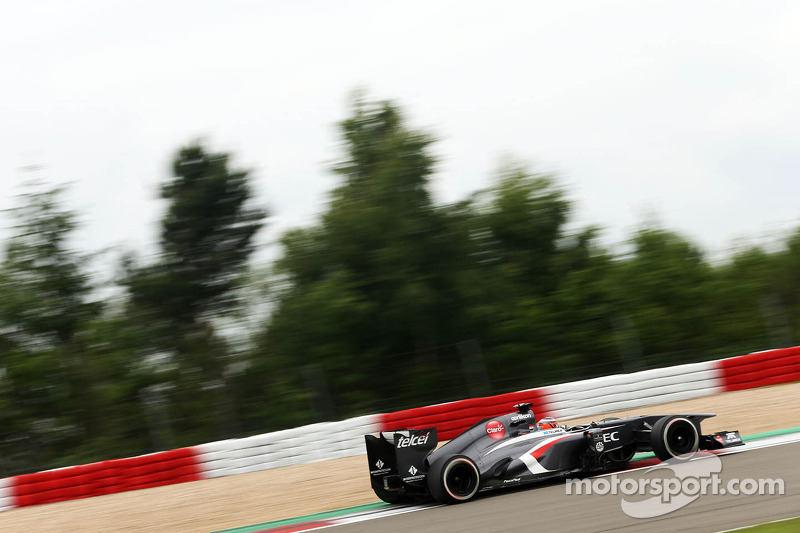 Sauber's Hulkenberg secured P10 for the start of the German GP tomorrow