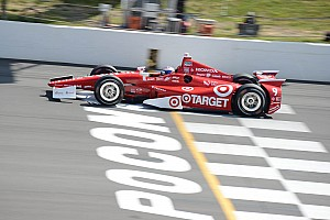 IndyCar Qualifying report Dixon leads Honda field in Pocono qualifying