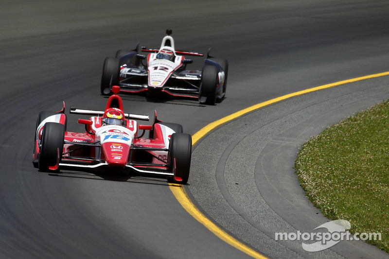 Justin Wilson rallies to top-10 finish in Toronto