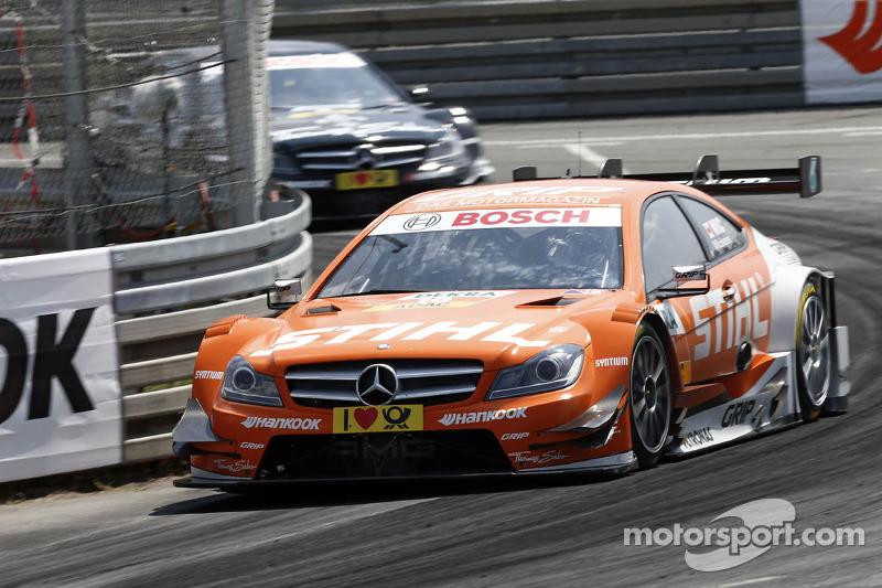 Mattias Ekström loses Norisring victory