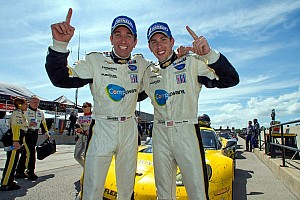 ALMS Race report Corvette Racing, Level 5 win close races at CTMP