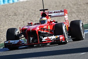 Ferrari reserve de la Rosa recovering from flu