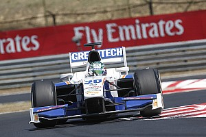 GP2 Race report Trident Racing drivers have good show in race 1 at Budapest