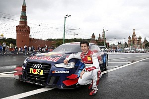 DTM Preview Audi RS 5 DTM before race debut in Moscow