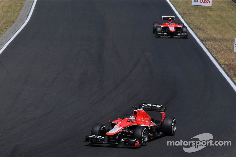 Marussia wants to keep both drivers for 2014