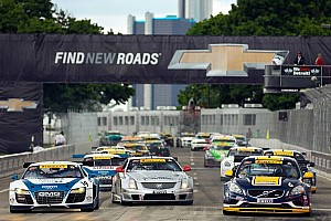 FIA GT3 cars in FIA Aero Trim approved for Pirelli World Challenge competition in 2014