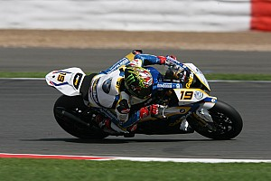 BMW Motorrad GoldBet had difficult qualifying day at Silverstone