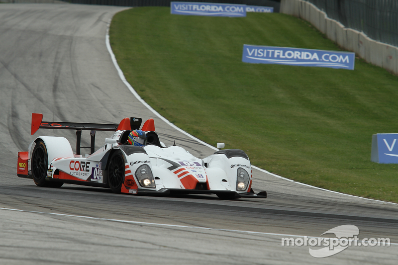 Braun takes fourth season pole for CORE at Road America