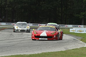 Grand-Am Race report Scuderia Corsa Ferrari earns first victory at Kansas Speedway