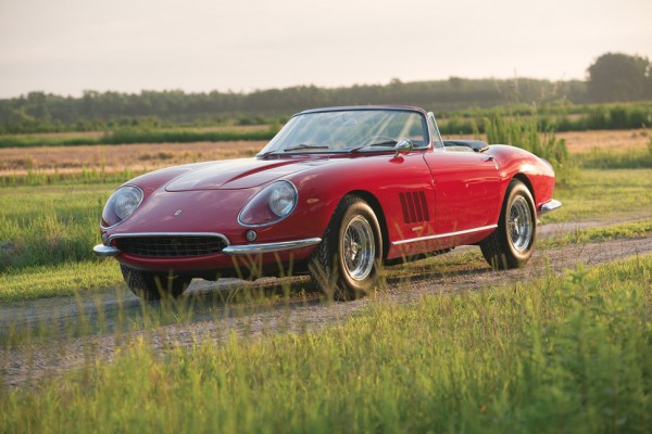 Ferrari 275 GTB bought at a record price by billionaire Lawrence Stroll